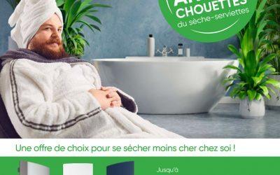 ACE – Offre Atlantic Sèche serviette