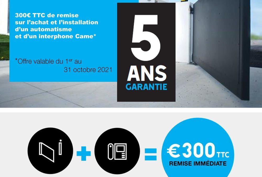 ACE – REMISE EXCEPTIONNELLE DE 300 €